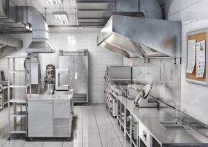 pulizia cucine industriali